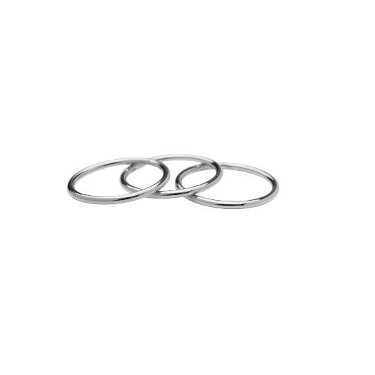 Bold Stackable Ring | Set of 3