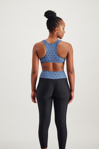 Shweshwekini Active Tights (Blue)
