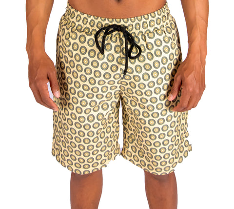 KHOSI SWIM SHORTS (YELLOW)