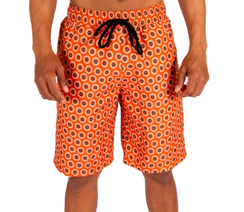 KHOSI SWIM SHORTS (ORANGE)