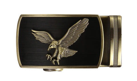Grand Eagle Brass Buckle