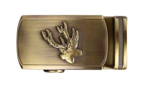 Holt Deer Gold Buckle
