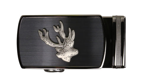 Holt Deer Pewter Buckle