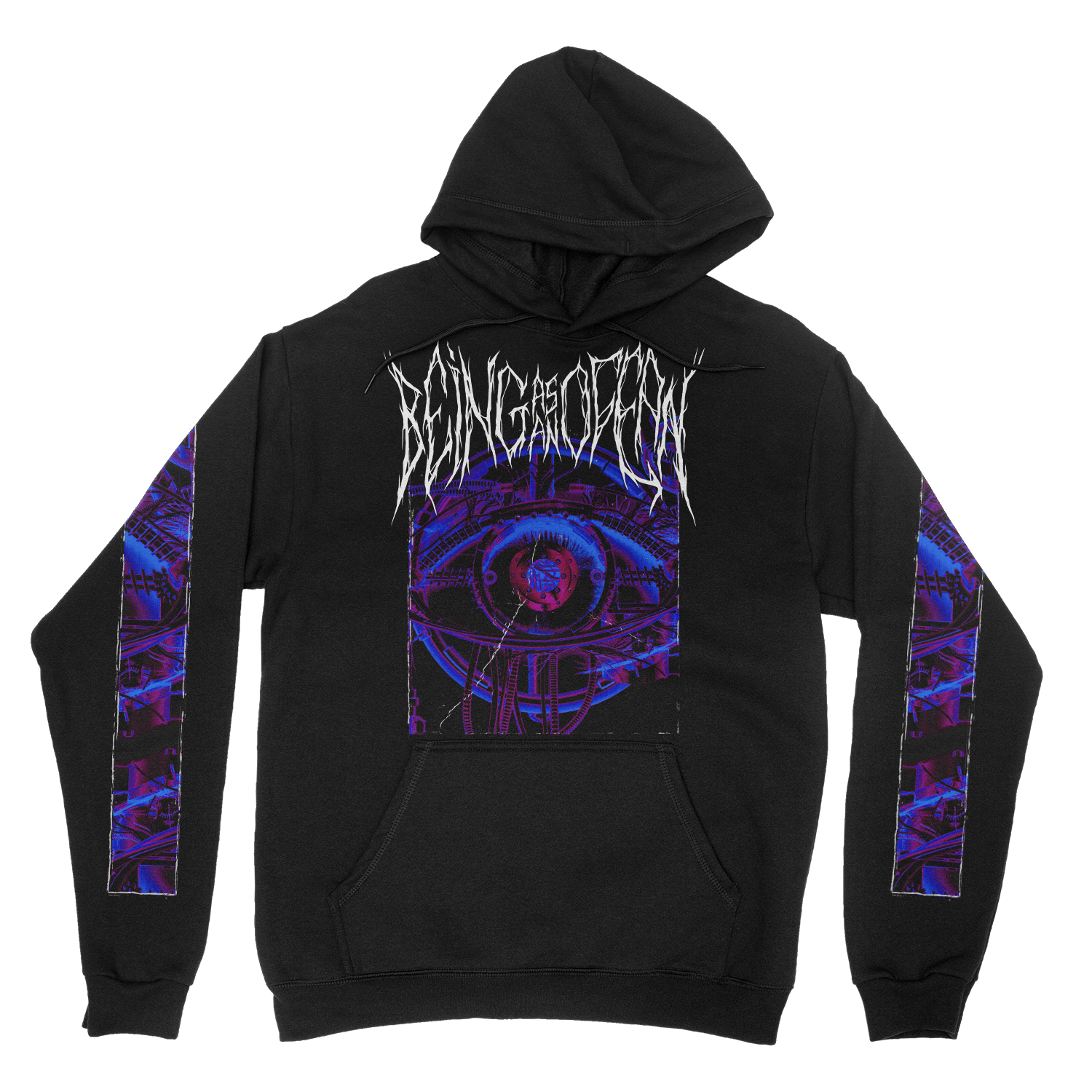 Mechanical Eye Hoodie