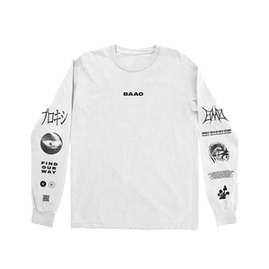 Find Our Way White Long Sleeve
