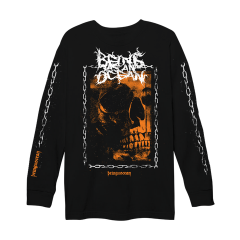 Chain Skull Long Sleeve