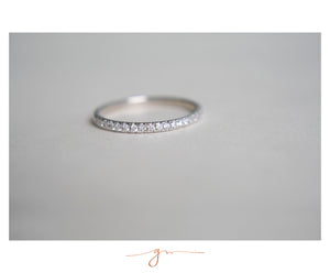 Churumbela Ava Diamante Blanco Bridal