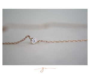 Collar Dalia Diamante