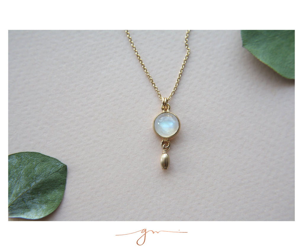Collar Corfu Moonstone