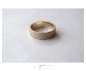 "Argolla Extra Matte Bridal ""for him"""