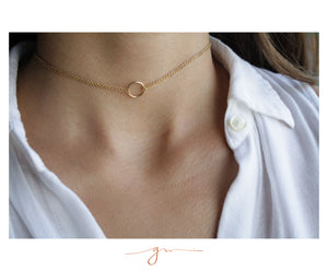 Collar Choker Eternity