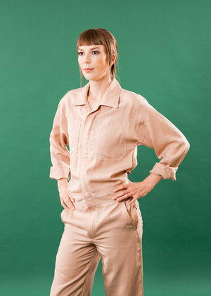 CLOUD PINK COVERALL
