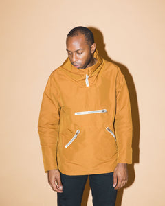 GOLD PULLOVER JACKET