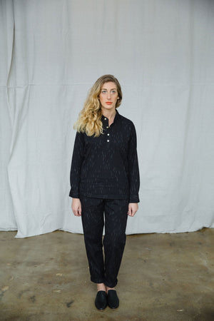 JAVA LONG SLEEVE SHIRT - BLACK