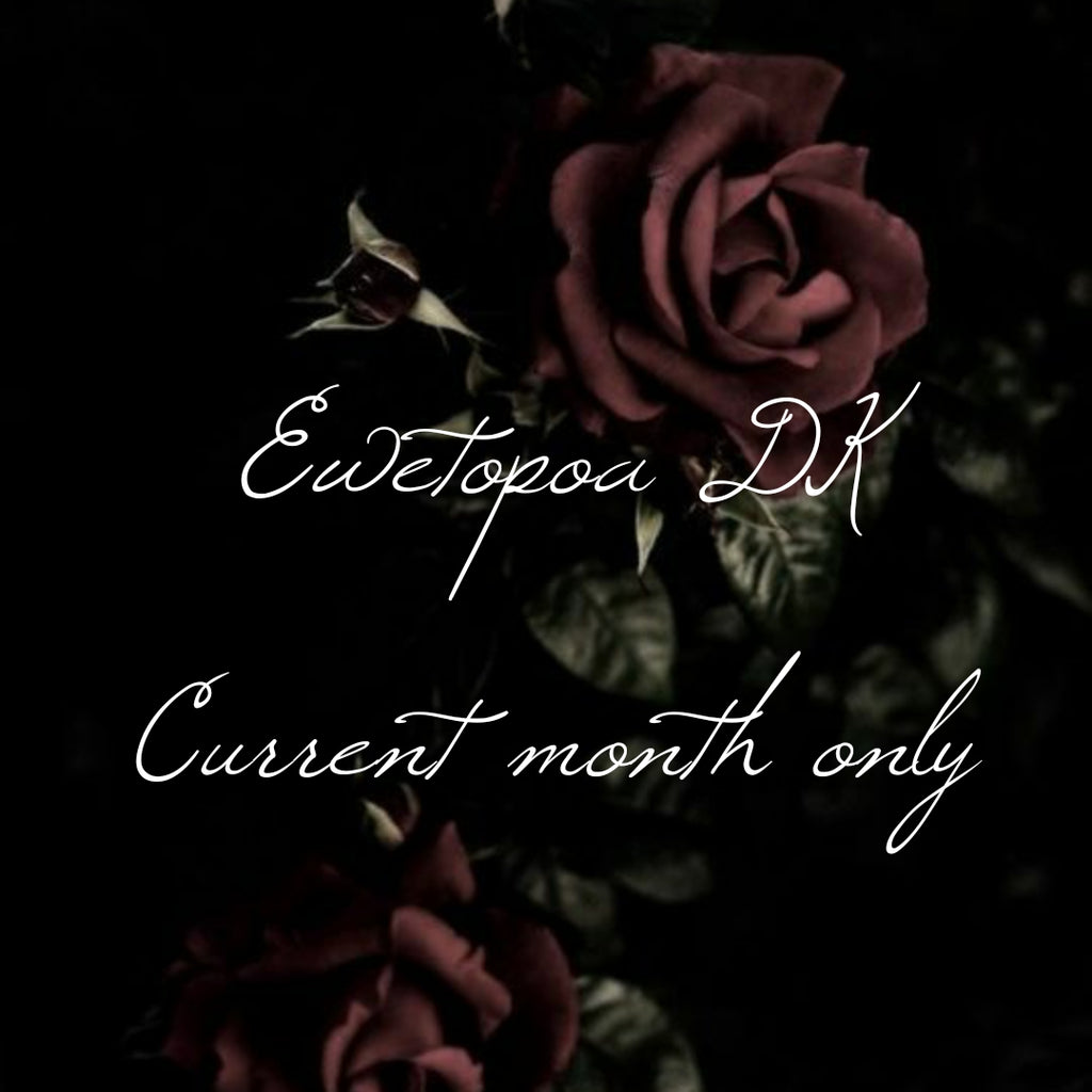Ewetopia DK- Current Gothic color of the month