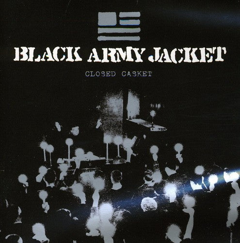 BLACK ARMY JACKET - CLOSED CASKET