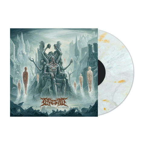 Ingested - Where Only Gods May Tread - GIMME EXCLUSIVE BONE VINYL PREORDER!