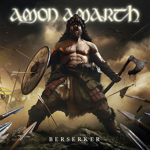 Amon Amarth - Berserker - Black & White Splatter Vinyl / CD