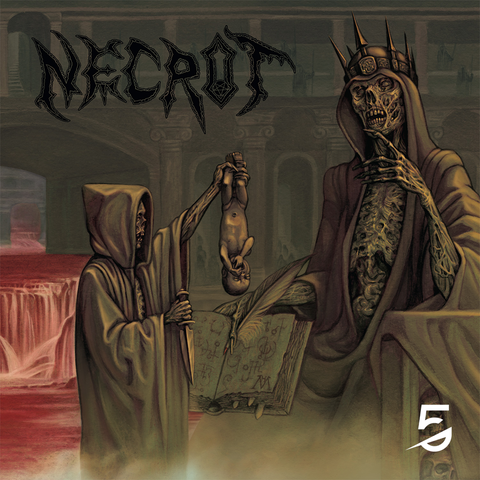 Necrot - Blood Offerings - Olive Vinyl