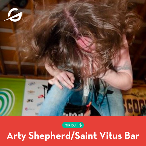 Tip Arty Shepard and support Saint Vitus bar!