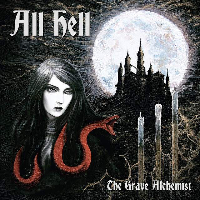 All Hell - The Grave Alchemist - Gold w/ Red Splatter Vinyl - Limited Edition