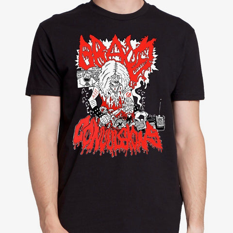 "Anthony Bartkewicz's ""Grave Convulsions"" T-Shirt"