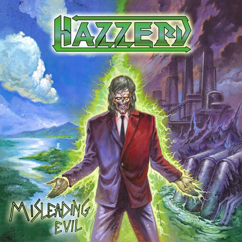 Hazzerd - Misleading Evil - Transparent Green