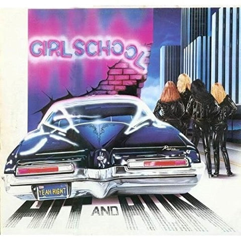 Girlschool - Hit and Run - IMPORT