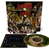 Incantation - Profane Nexus - Swamp Green and Metallic Gold Merge Vinyl