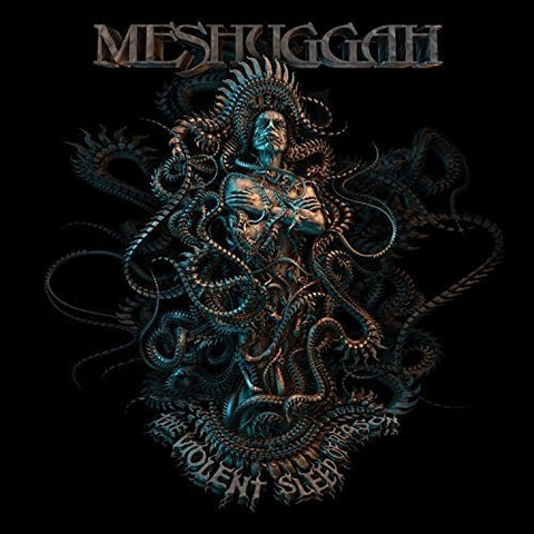 Meshuggah - The Violent Sleep of Reason - Grey/Black Splatter