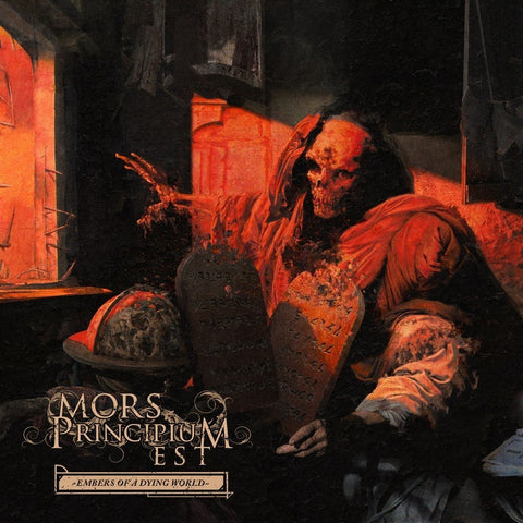 Mors Principium Est - Embers of a Dying World - Brown Marbled Vinyl - Limited to 500