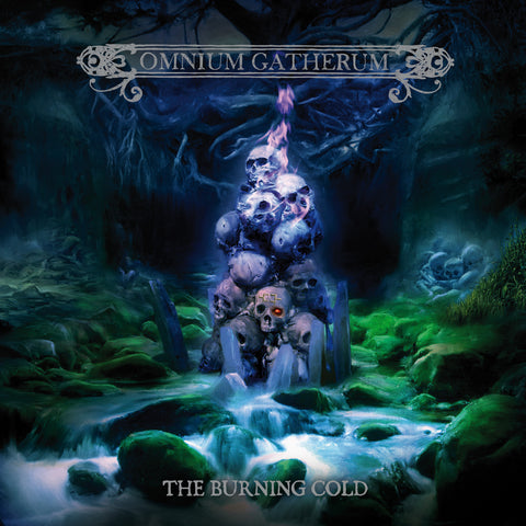 Omnium Gatherum - The Burning Cold - Blue Vinyl
