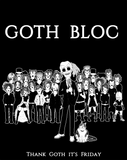 Randy Blythe's Goth Bloc Shirt - U.S. and Canada Version