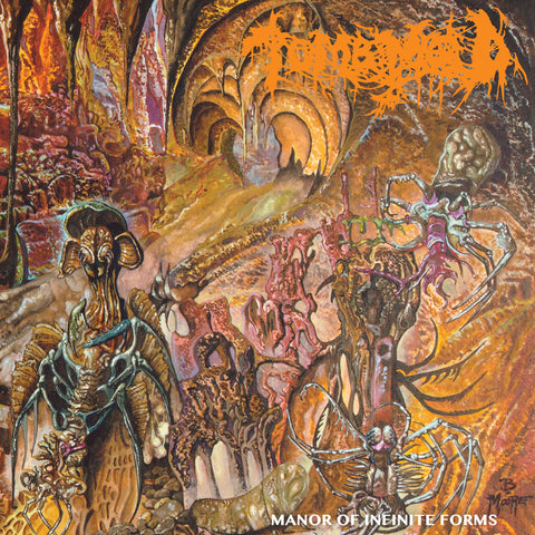 Tomb Mold - Manor Of Infinite Forms - LP and CD