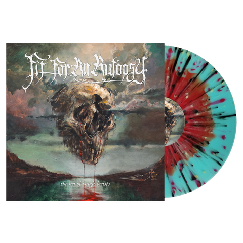 Fit For An Autopsy - The Sea of Tragic Beasts (Red/ Blue Splatter Vinyl)