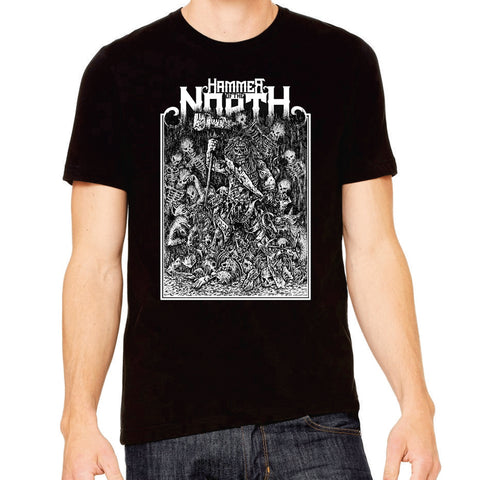 "Johan Hegg's ""Hammer Of The North"" T-Shirt -- Limited Run!"