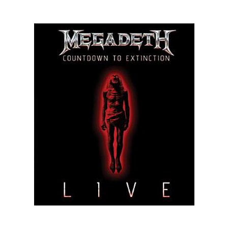Megadeth Countdown To Extinction Live DVD