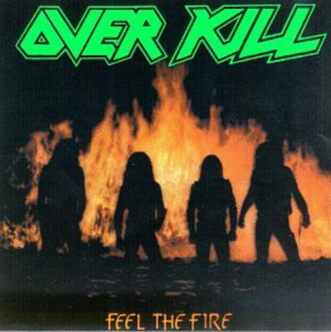 Overkill - Feel The Fire - CD - IMPORT