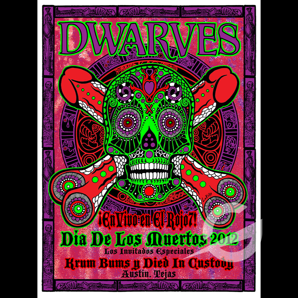 Day of the Dwarves - Swamp Co. Special Edition Show Print