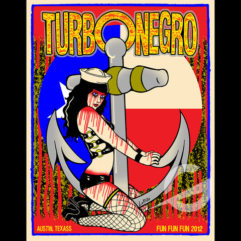 Turbonegro - Fun Fun Fun Festival - Swamp Co. Special Edition Show Print