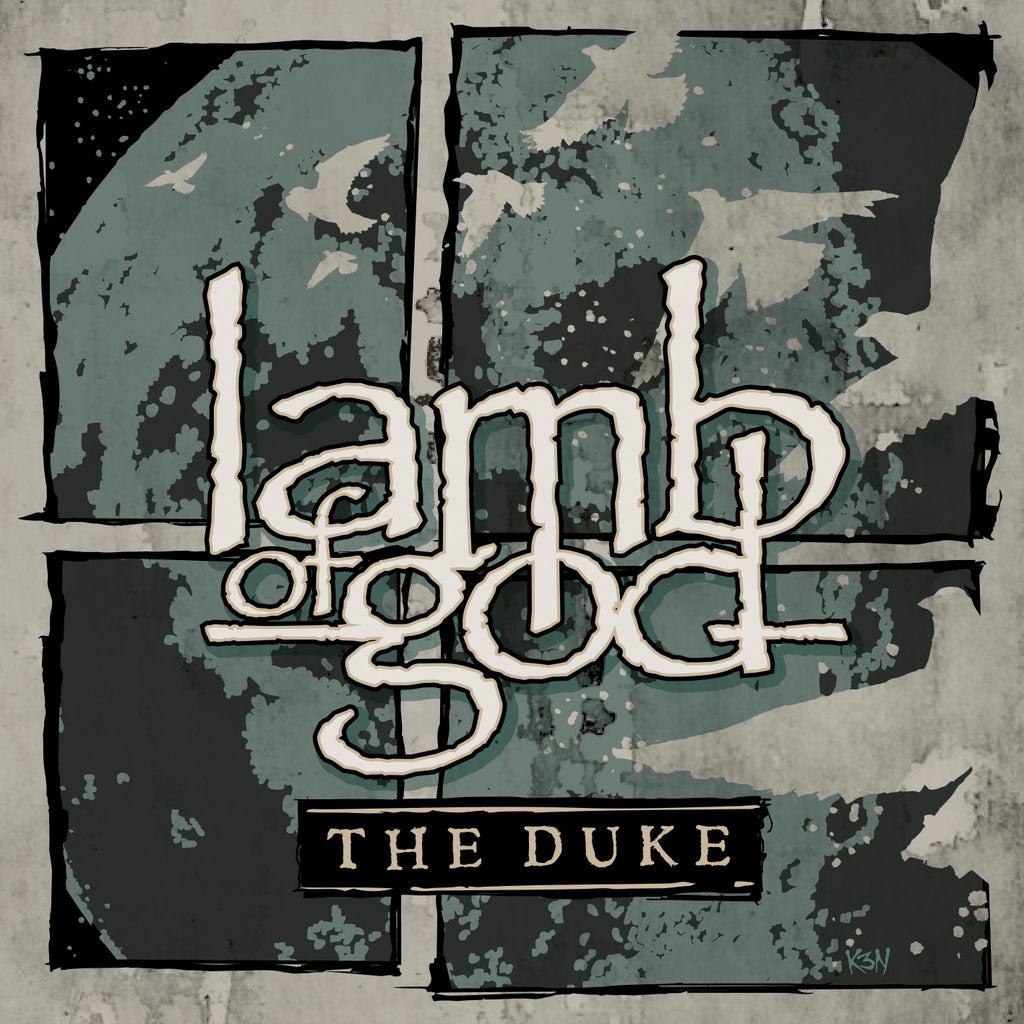 "Lamb of God - The Duke - 10"" Green Vinyl"