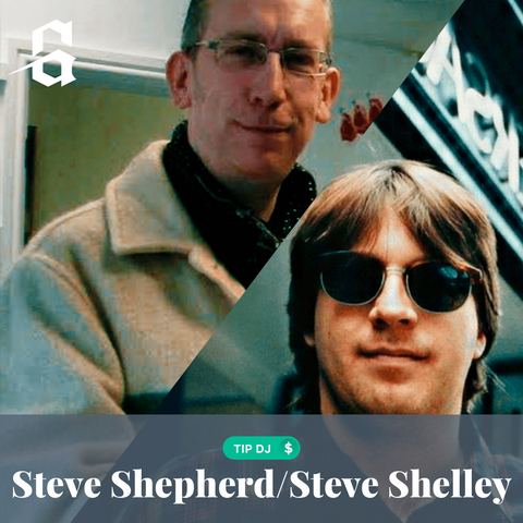Tip Steve Shepherd and Steve Shelley!