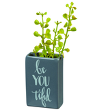 Be YOU tiful vase