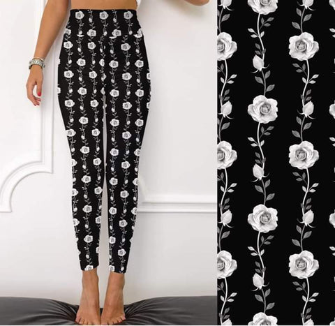 Rose Vine Leggings