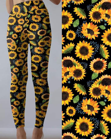 Sunflower 2 Leggings