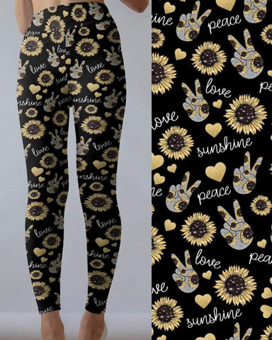 Peace Love Sunshine Leggings