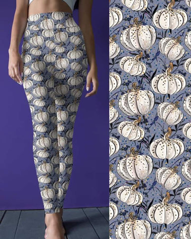 White Pumpkin Leggings