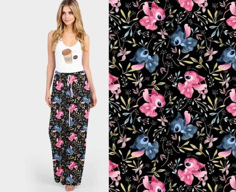 Flowers and Stitches Lounge Pants