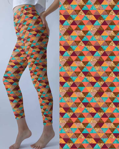Fall Triangle Leggings