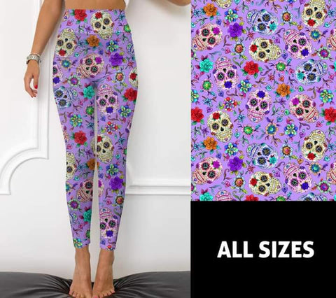 Purple Sugar Leggings